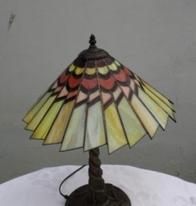 Art deco napsugaras lámpa