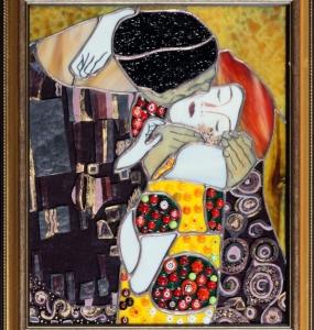 Gustav Klimt csók 2
