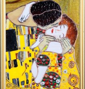 Gustav Klimt csók